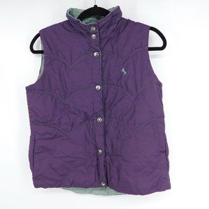 Cowgirl Up Women's Vest Size S Small Reversible